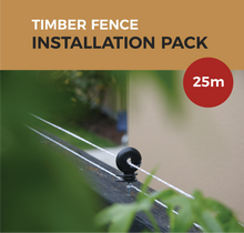 Load image into Gallery viewer, Cat Proof Fence Installation Pack - Timber Fences 25m | SmartCatsStayHome