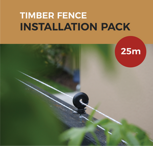 Cat Proof Fence Installation Pack - Timber Fences 25m | SmartCatsStayHome