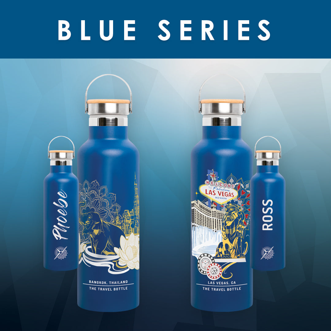 PERSONALIZE: BLUE SERIES
