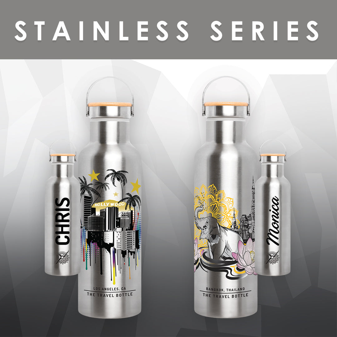 PERSONALIZE: STAINLESS SILVER SERIES