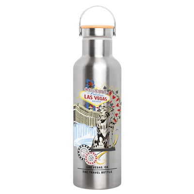 PERSONALIZE: STAINLESS SILVER SERIES - The Travel Bottle