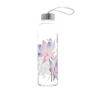 Colorful Glass Series: Lotus - The Travel Bottle