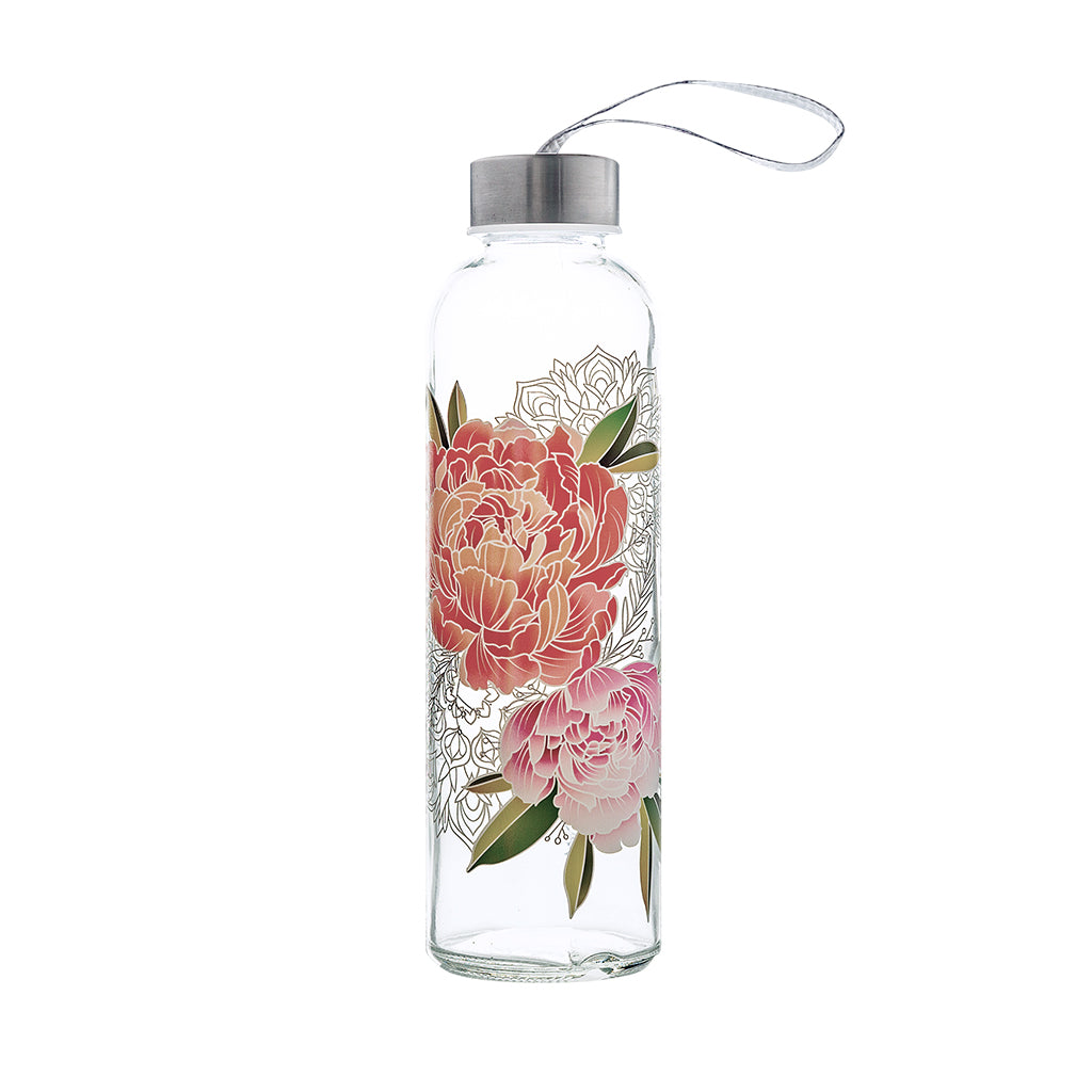 Colorful Glass Series: Peony - The Travel Bottle