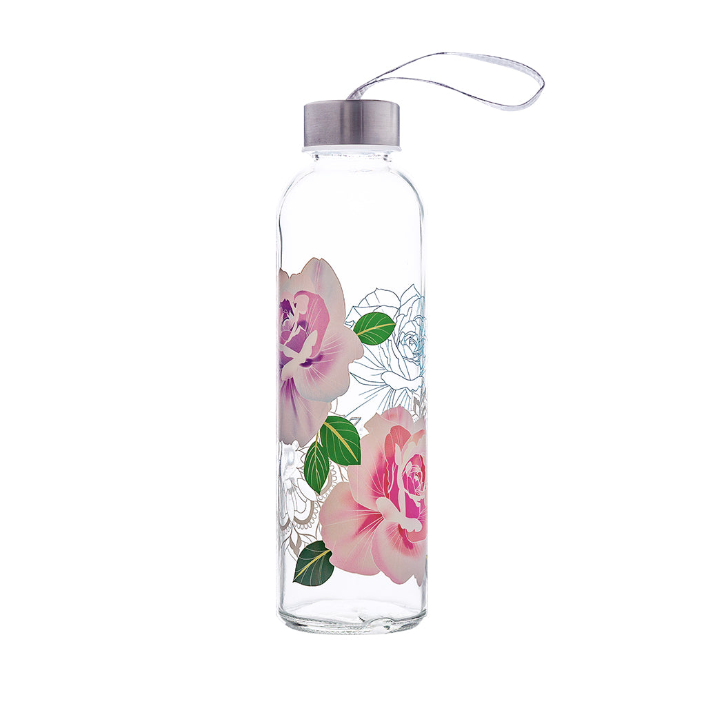 Colorful Glass Series: Rose - The Travel Bottle