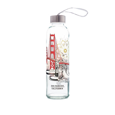 Colorful Glass Series: San Francisco - The Travel Bottle