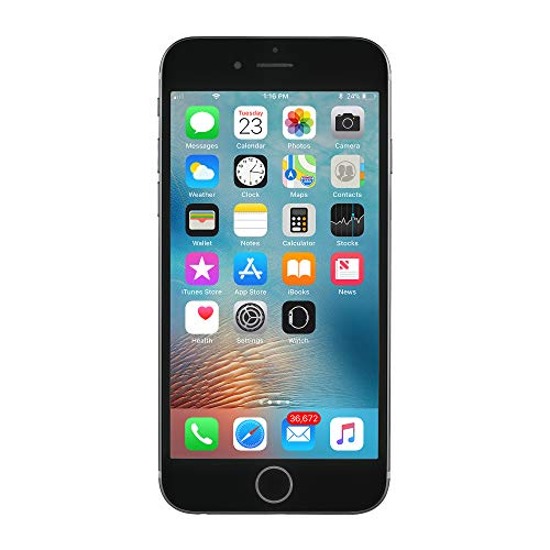 Apple iPhone 6S, GSM Unlocked, 64GB - Space Gray (Refurbished)