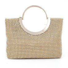 Abshoo Diamond Studded Women Evening Bags Luxury Crystal Chain Shoulder Bags Wedding Party Banquet Handbag