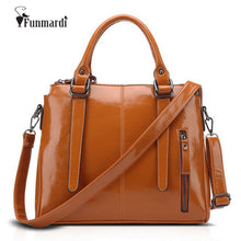 New arrival Fashion waxy leather bags Hot sale women PU leather handbag famous female totes bag star style shoulder bag WLHB1418
