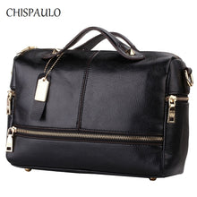 CHISPAULO Women Bags 2017 Brand Designer Handbags High Quality Women Genuine Leather handbags Women Messenger Crossbody Bags X39