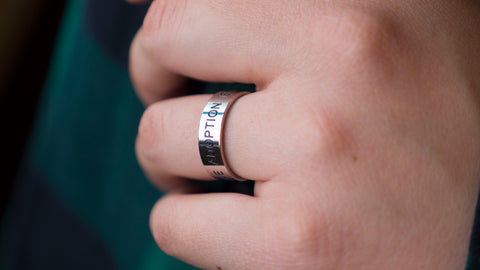 adoption is another word for love ring-adoption jewelry