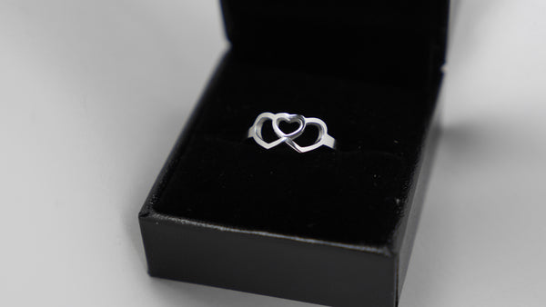 Connecting Hearts Ring | Adoption Jewelry, Adoption Ring