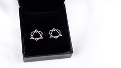 Adoption Symbol Stud Earrings | ADOPTION JEWELRY