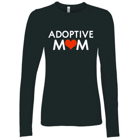 long sleeve adoptive mom shirt