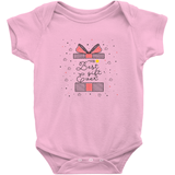 pink best gift ever adoption onesie