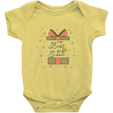 yellow best gift ever adoption onesie