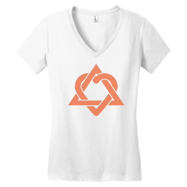 white adoption symbol shirt