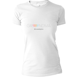 Grandma #iloveadoption T-shirt | Adoption Gifts, Clothing & Apparel