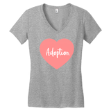 Pink Adoption Heart T-Shirts | Adoption Gifts, Clothing & Apparel