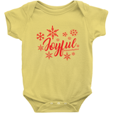 yellow holiday adoption onesie