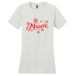 Christmas Miracle Women's T-Shirt | Adoption Gifts, Clothing & Apparel