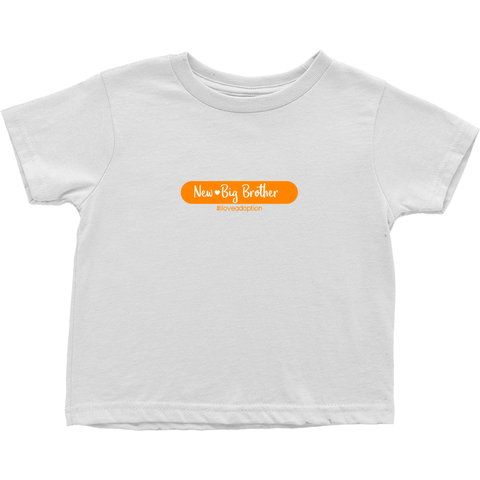 New Big Brother Toddler T-Shirt | Adoption Gifts, Clothing & Apparel