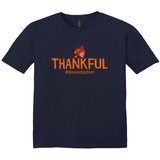 Thankful (Thanksgiving) Men's T-Shirt | Adoption Gifts, Clothing & Apparel