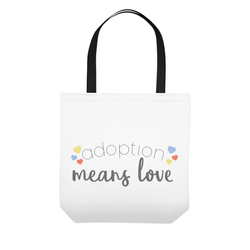 adoption gift-tote bag