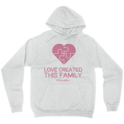 Love created this family hoodie