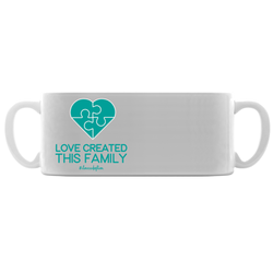 Love created this family adoption mug