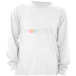 FOSTER LONG SLEEVE SHIRT | ADOPTION GIFTS, CLOTHING & APPAREL