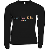 adoption gifts: Love Love Foster shirt