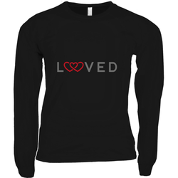 LOVED LONG SLEEVE SHIRT | ADOPTION GIFTS, CLOTHING & APPAREL