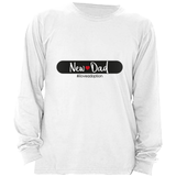 NEW DAD LONG SLEEVE SHIRT | ADOPTION GIFTS, CLOTHING & APPAREL