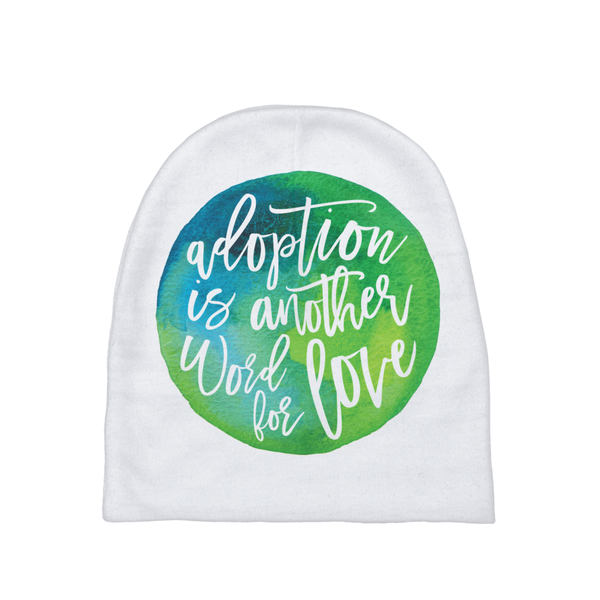 Another Word for Love Baby Beanie | Adoption Gifts, Baby Clothing and Apparel