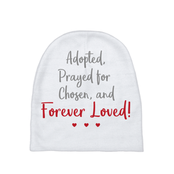 Forever Loved Baby Beanie | Adoption Gifts, Baby Clothing and Apparel