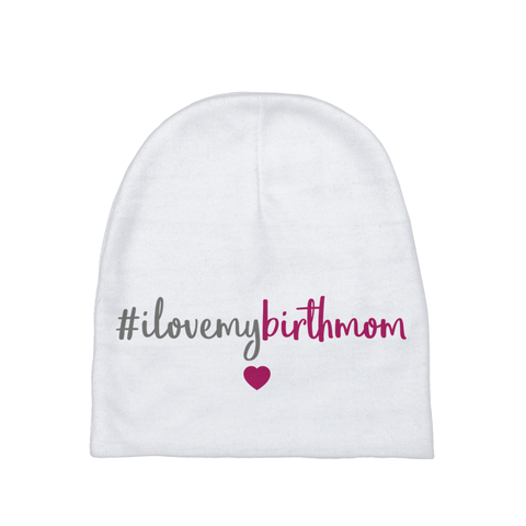 I Love My Birth Mom | Adoption Gifts, Baby Clothing and Apparel
