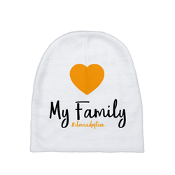 Love My Family Baby Beanie | Adoption Gifts, Baby Clothing and Apparel