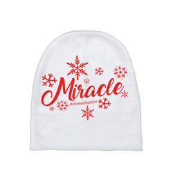 Miracle Baby Beanie | Adoption Gifts, Baby Clothing and Apparel