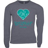 BLUE MISSING PIECE LONG SLEEVE SHIRT | ADOPTION GIFTS, CLOTHING & APPAREL