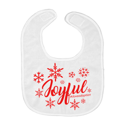 Joyful (Christmas) Baby Bibs | Adoption Gifts, Baby Clothing and Apparel