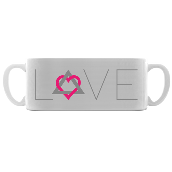 Love Adoption Symbol Mugs | Adoption Gifts