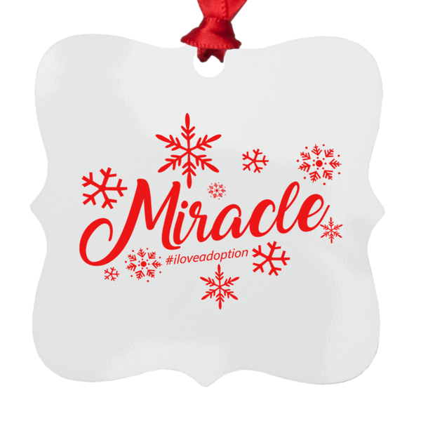 Miracle Metal Ornaments | Adoption Gifts, Adoption Ornaments