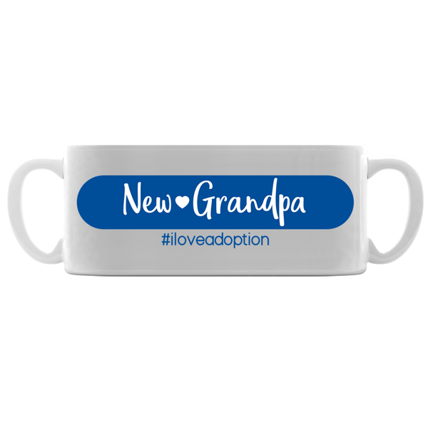 New Grandpa Mugs | Adoption Gifts, Men's gifts