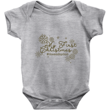 My First Christmas Onesie | Adoption Gifts, Baby Clothing and Apparel