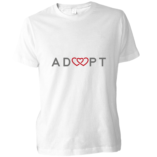 Triple heart adoption shirt