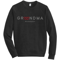 GRANDMA SWEATSHIRT | ADOPTION GIFTS, CLOTHING & APPAREL