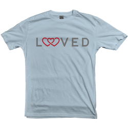 Loved (Triple Red) Women's T-Shirts | Adoption Gifts, Clothing & Apparel
