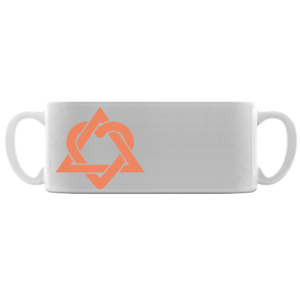 Orange Adoption Symbol Mugs | Adoption Gifts, Adoption Mug