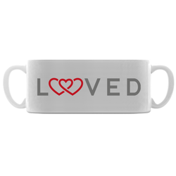 loved adoption symbol mug