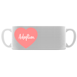 Pink Adoption Heart Mugs | Adoption Gifts, Adoption Mugs